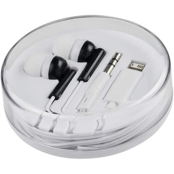 Switch sluchátka s více konektory