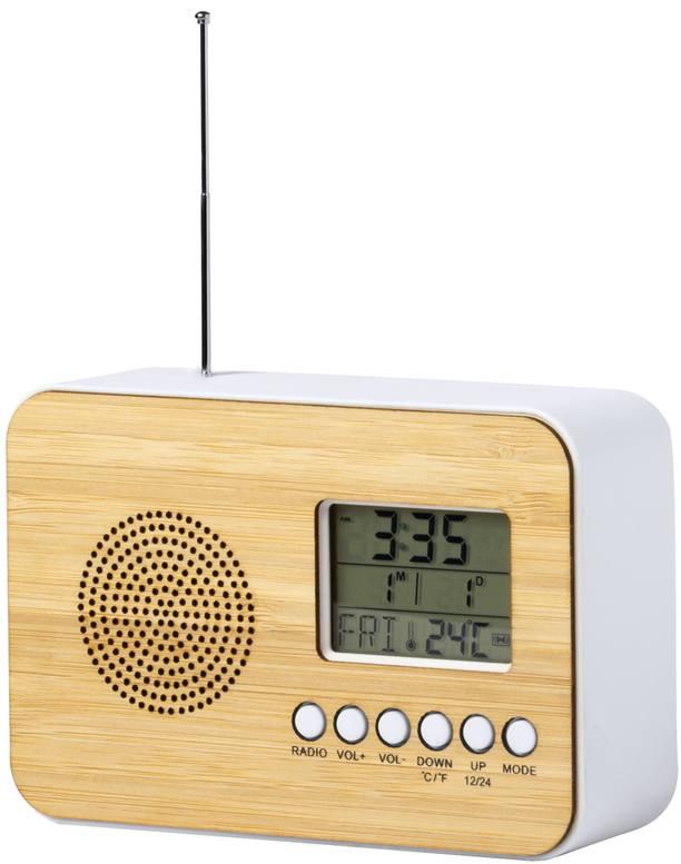 Tulax stolní rádio s hodinami