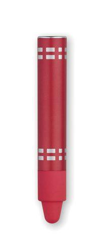 Červené dotykové pero