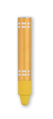 Žluté dotykové pero