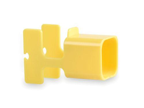 Žlutý držák na nabíječku