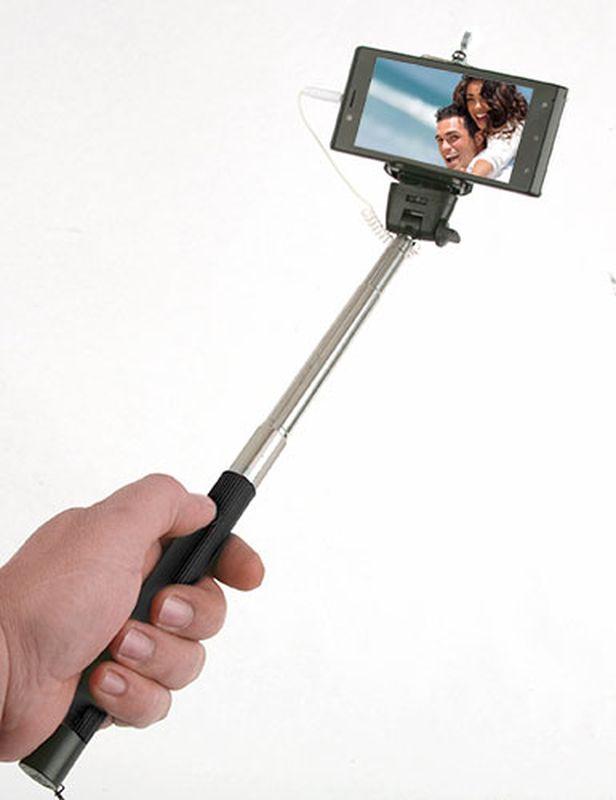 Selfie tyč černá