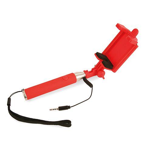 Selfie tyč červená