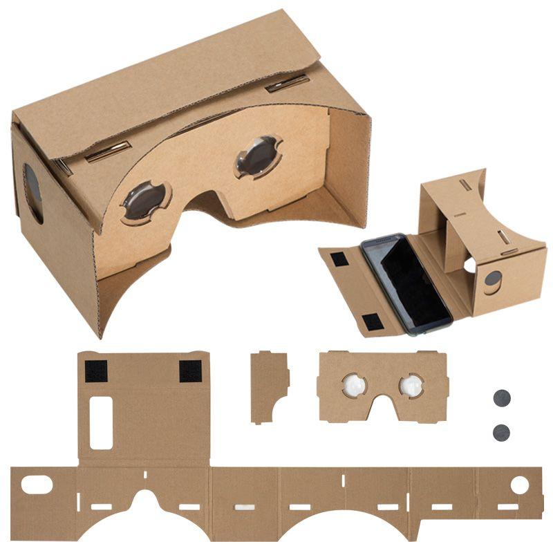 Kartonové VR brýle s potiskem