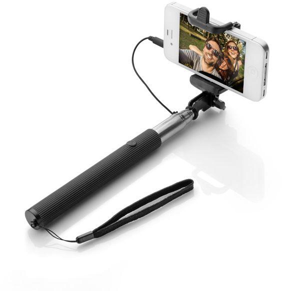 Teleskopická selfie tyč SELFIE CLICK černá