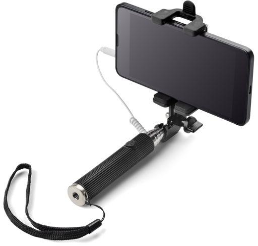 Mini selfie tyč SELFIE MINI černá