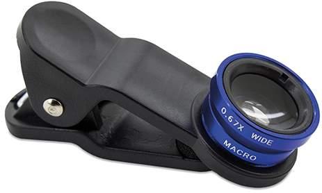 Zvětšovací čočky pro smartphone, modrá
