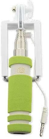 Selfie tyč, zelená