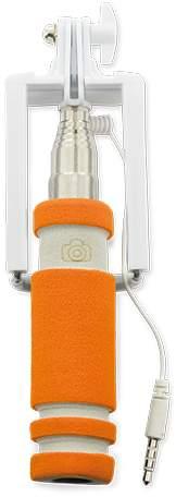 Selfie tyč, oranžová