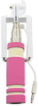 Selfie tyč, růžová
