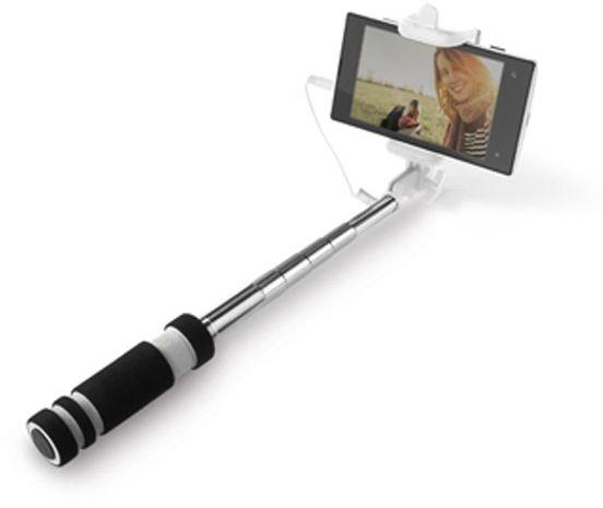 Teleskopická selfie tyč.