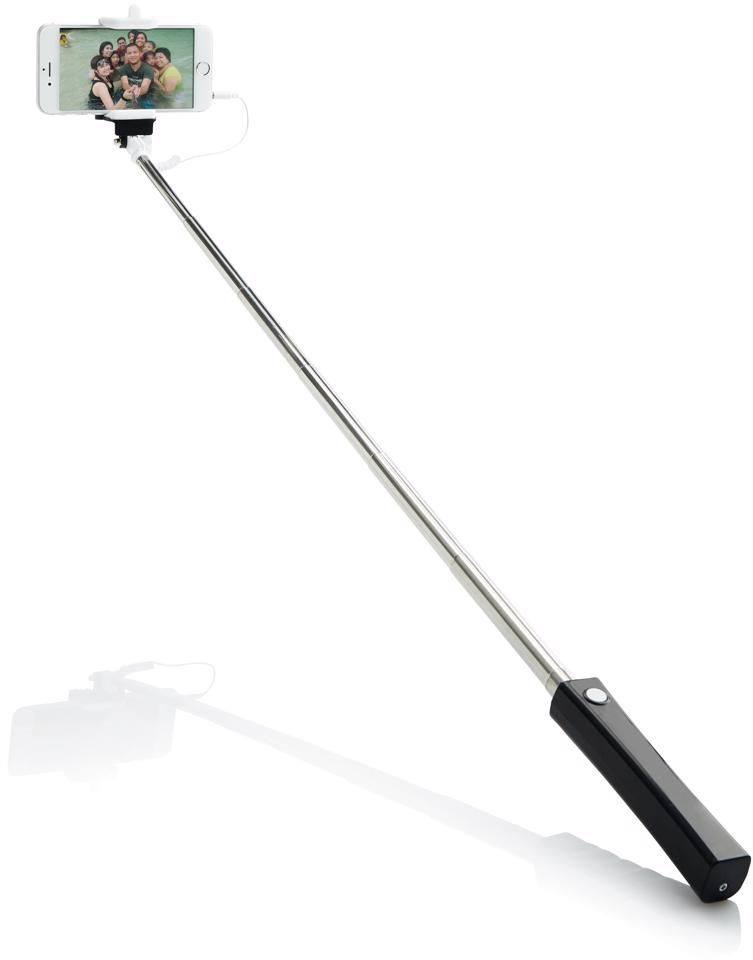 Selfie tyč skabelem