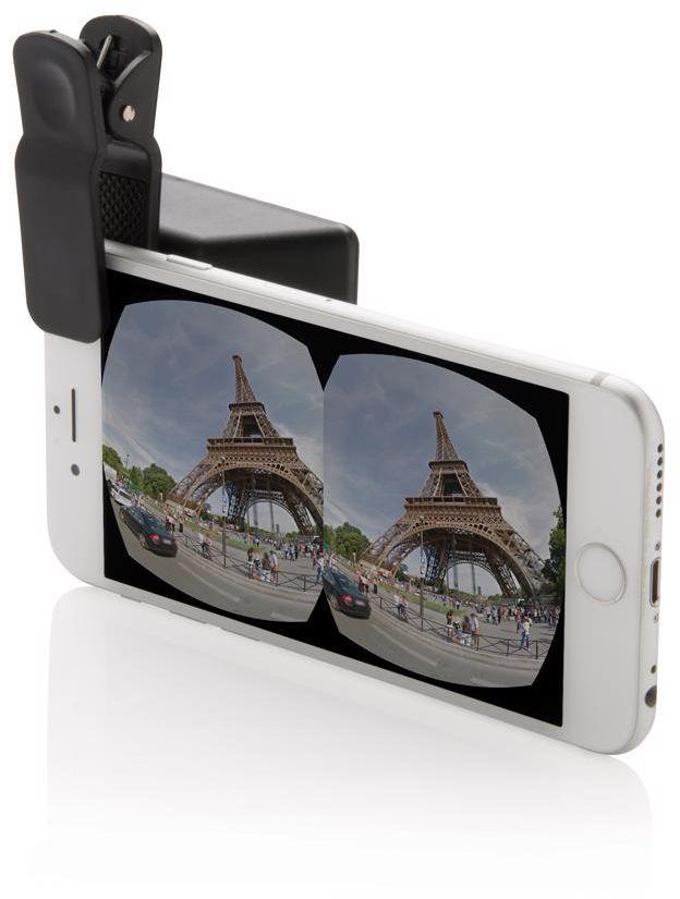 Univerzální 3D objektiv fotoaparátu