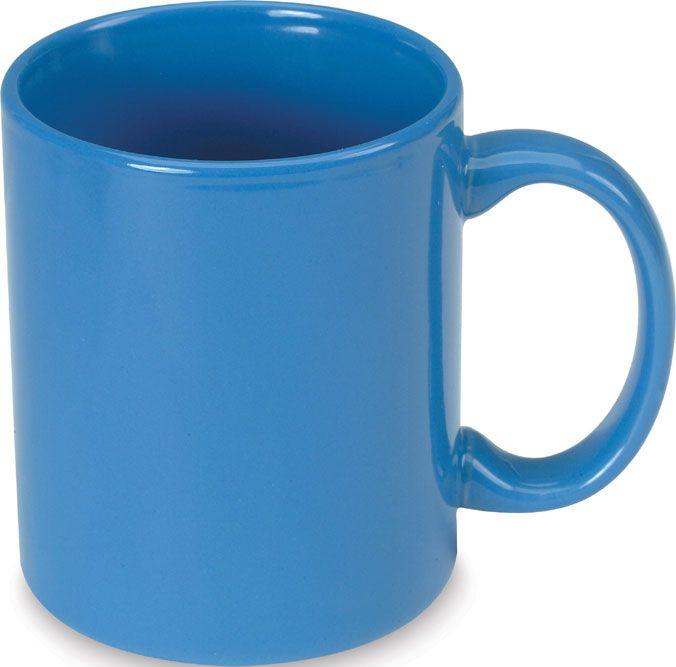 Modrý keramický hrnek