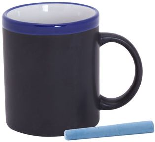 Colorful hrnek bílo-modrý