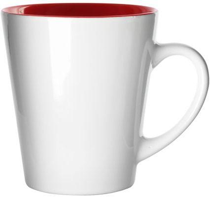 Stylový červený hrnek - 300 ml
