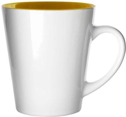 Stylový žlutý hrnek - 300 ml