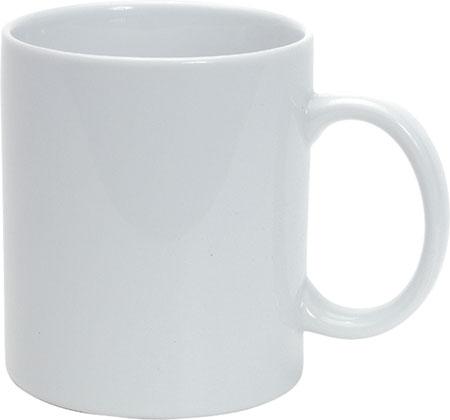 Bílý hrnek porcelán - 300 ml