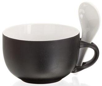 Černý hrnek 450 ml