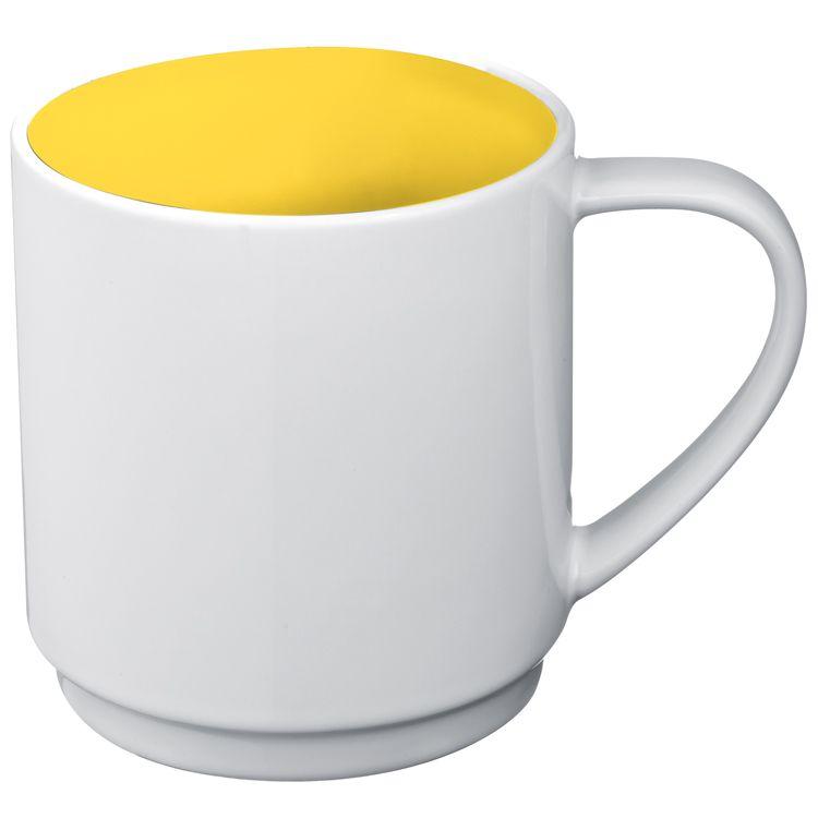Keramický hrnek, 0,3 l žlutý