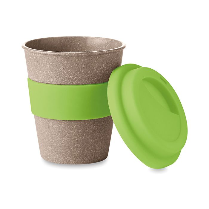 Zelený pohárek z bambusu