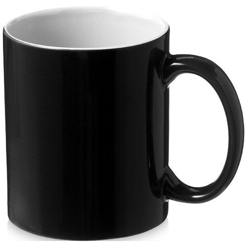 Černý keramický hrnek Java