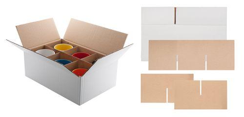 Sixpack krabice na hrnky