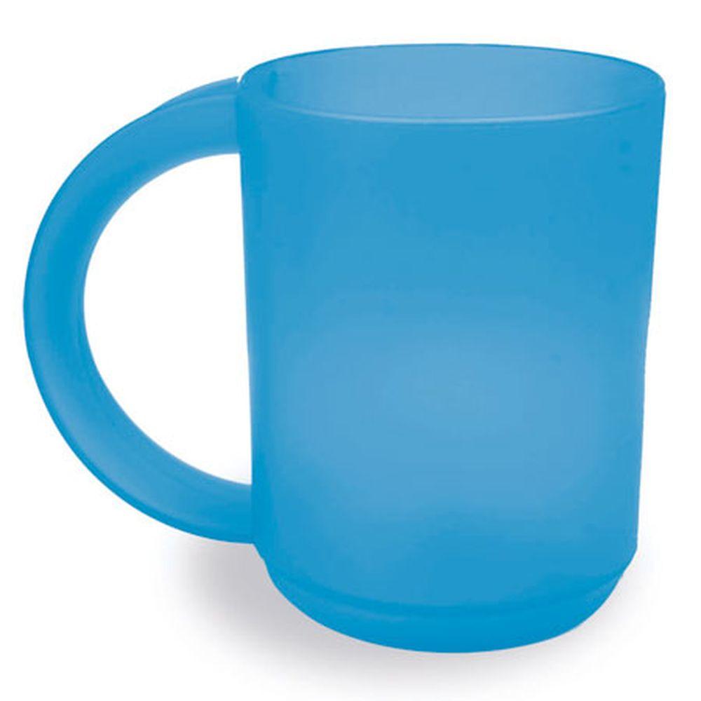 Plastový hrnek modrý