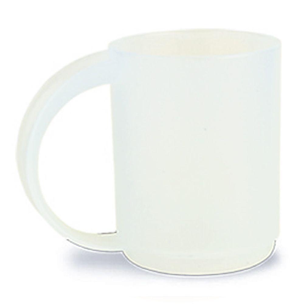 Plastový hrnek bílý