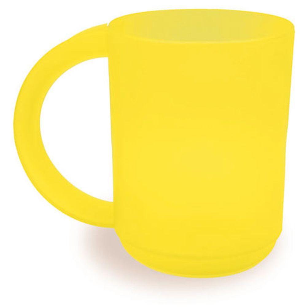 Plastový hrnek žlutý