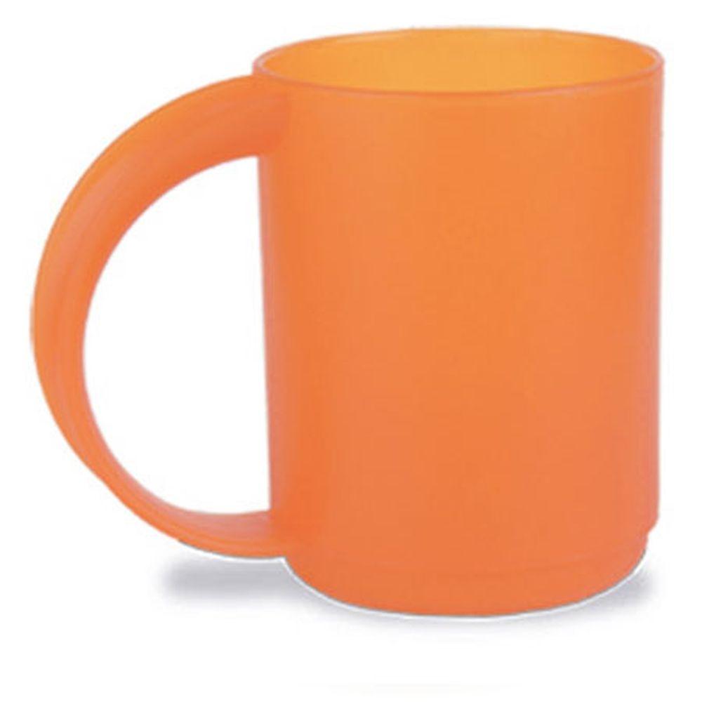 Plastový hrnek oranžový