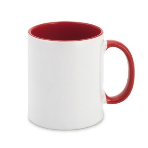 Keramický hrnek červený