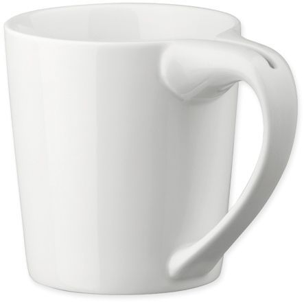WRING porcelánový hrnek se ždímačem čaj. sáčků, 300 ml, bílá