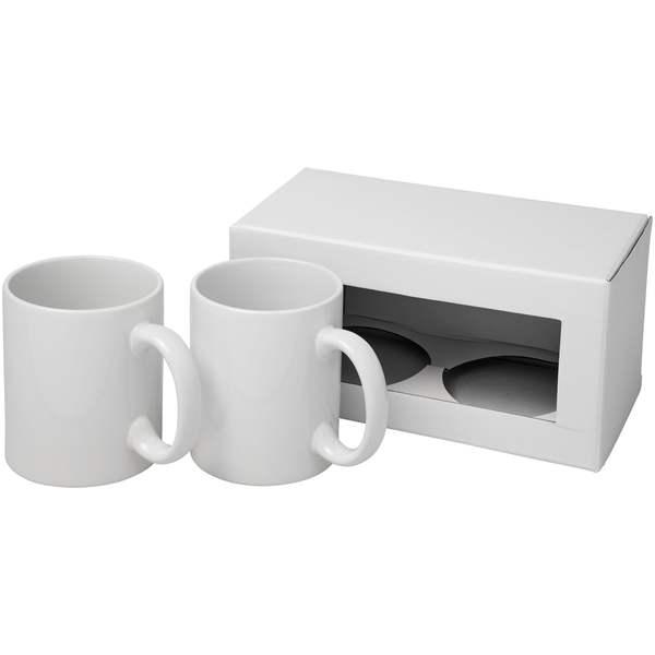 Dárková sada dvou sublimačních hrnků Ceramic