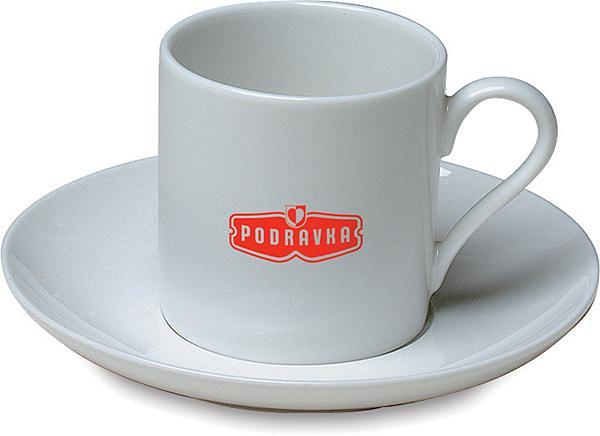 Porcelánový mocca šálek