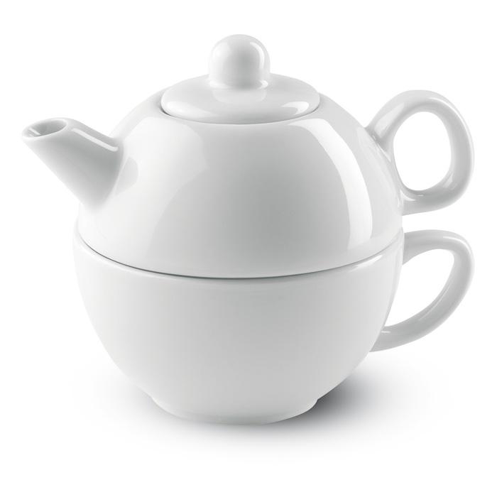 Keramická čajová sada s potiskem
