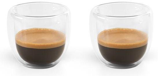 Set na kávu transparentní