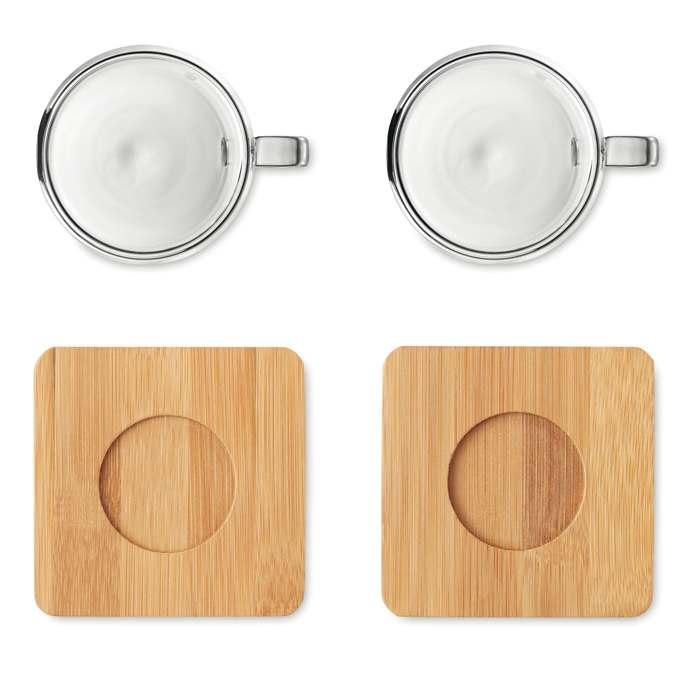Dva šálky na espresso