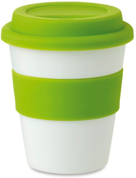 PP sklenice zelená