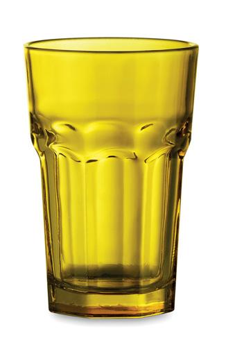 Kisla žluté skleničky na pití
