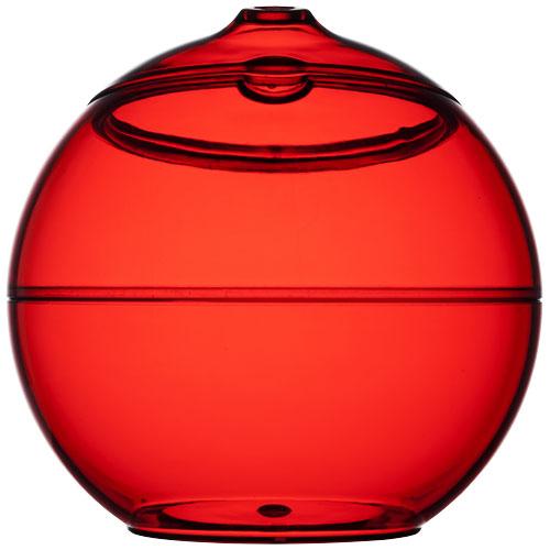Koule se slámkou Fiesta červená