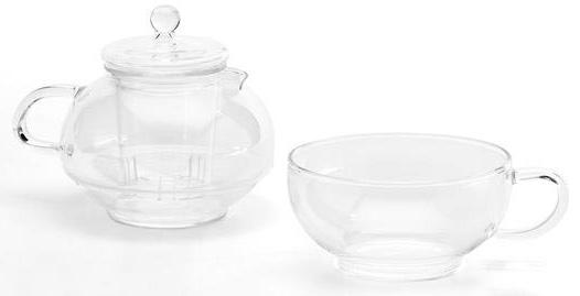 Set na čaj  transparentní