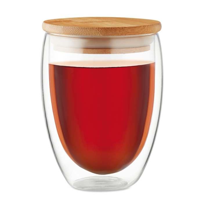 Dvoustěnná sklenice 350ml