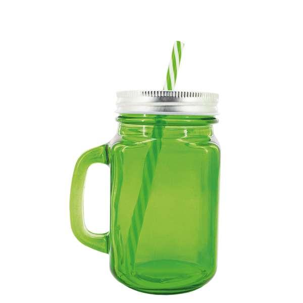 Skleněná sklenice