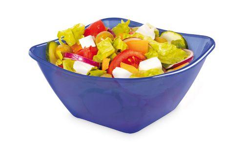 Modrá salátová mísa