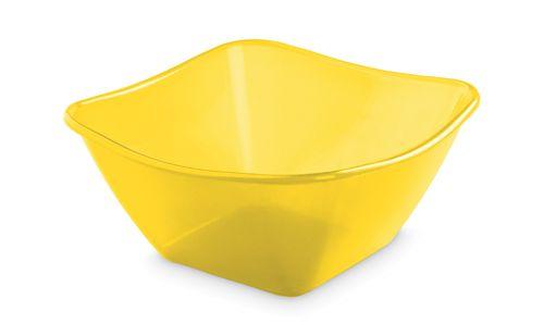 Žlutá salátová mísa