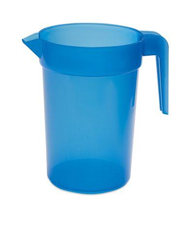 Modrý plastový džbán