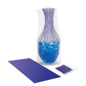 Envelope modrá váza s potiskem