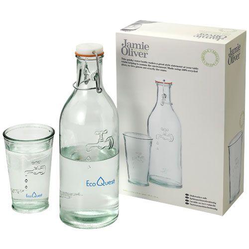 Karafa na vodu se sklenicí