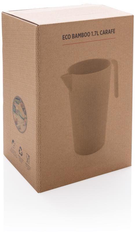 EKO džbán z bambusu, 1,7l